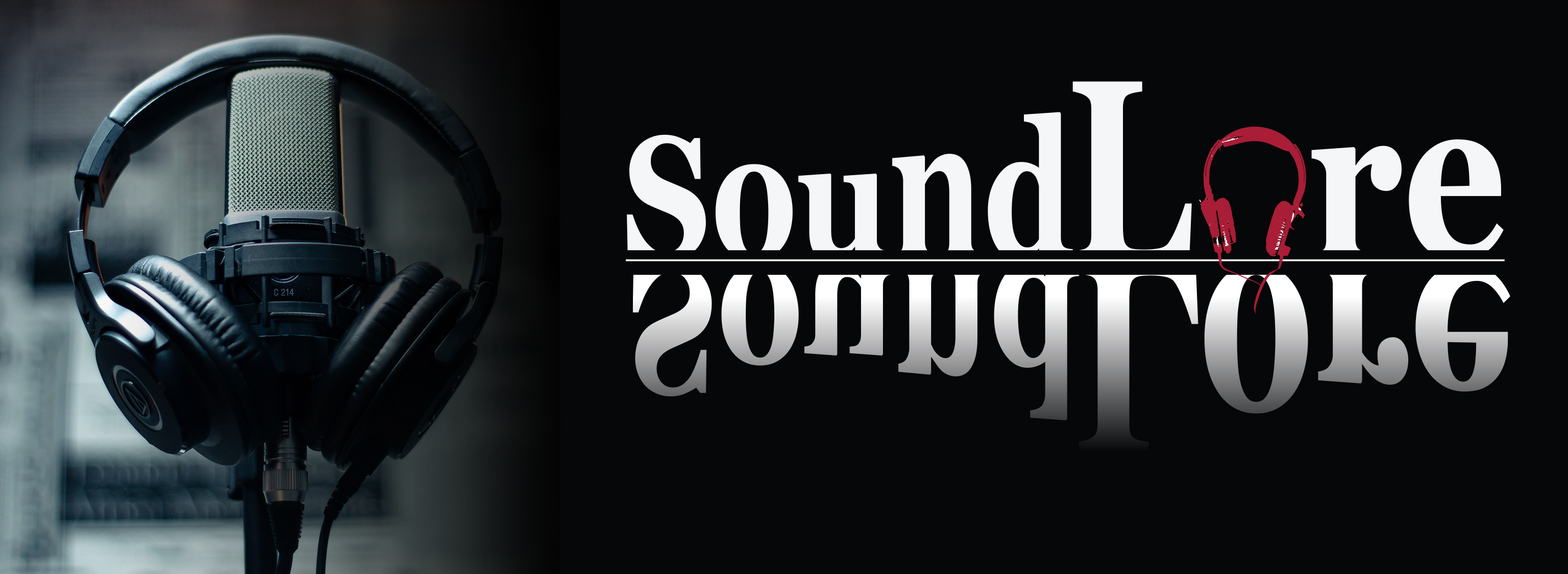 Soundlore podcast page banner image.